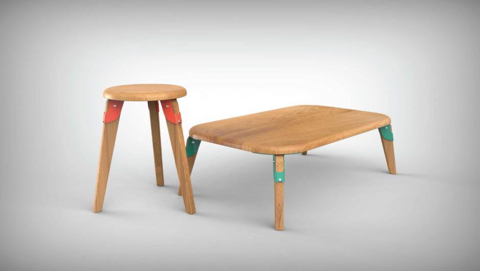 Piece by Piece Furniture system