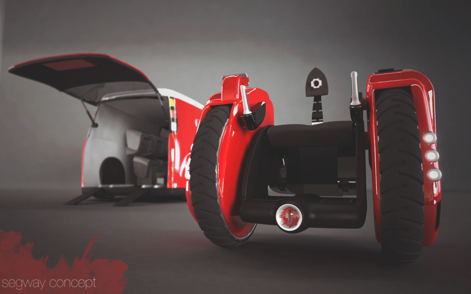 Auspost Segway concept vehicles